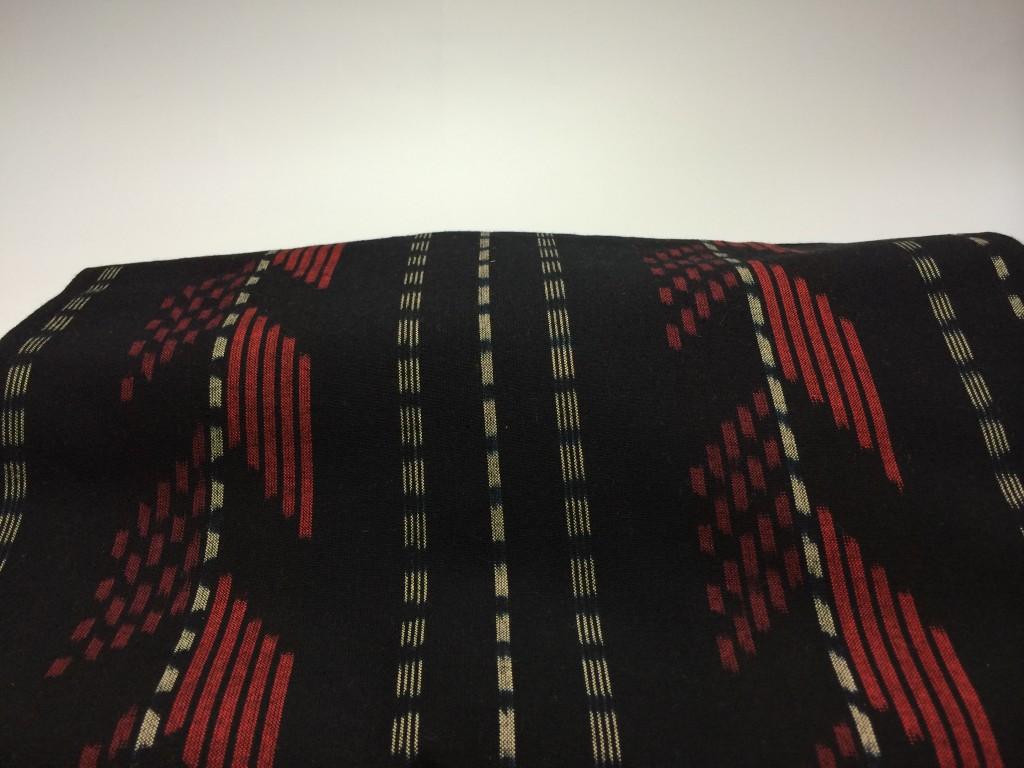 H26.7.11立絣矢絣黒赤